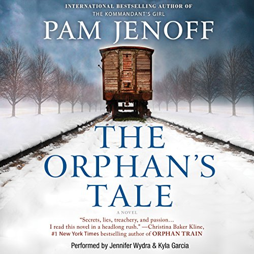 The Orphan's Tale     A Novel              By:                                                                                                                                 Pam Jenoff                               Narrated by:                                                                                                                                 Jennifer Wydra,                                                                                        Kyla Garcia                      Length: 12 hrs and 52 mins     3,899 ratings     Overall 4.4