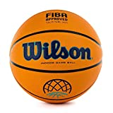 Wilson WTB0900XBBCL Balón de Baloncesto, Evo Next Champions League, Balón Oficial de La Basketball Champions League, Aprobado por La Fiba, Interior, Material Compuesto de Textura Granulada