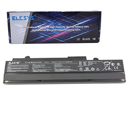 BLESYS A32-1015 A31-1015 Batería para ASUS EEE PC 1011 1011PX 1015 1015B 1015BX 1015CX 1015P 1015PD 1015PEM 1015PN 1016 1016P 1215 1215B 1215N 1215P 1215T R011P R051P VX6 Ordenador 10.8V 4400mAh