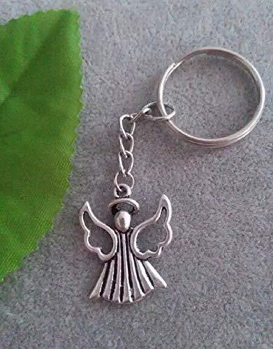 Familienkalender Kleiner Engel Schutzengel Schlüsselanhänger (Flügel offen) | Glück | Schutz | Gesundheit | Himmel | Gott | Geschenk |
