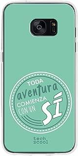 Funnytech/® Funda Silicona para Samsung Galaxy S8 Plus Frase Divertida Cuando Soy Buena Transparente Carcasa Gel TPU Silicona Flexible Resistente Dise/ños