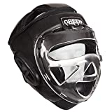 GREEN HILL Head Guard Safe (Black, Medium)