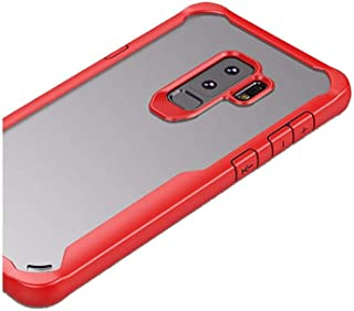 IPAKY 2-in-1 Case for Samsung Galaxy S9 Plus (6.2 inch) Back Cover - Red