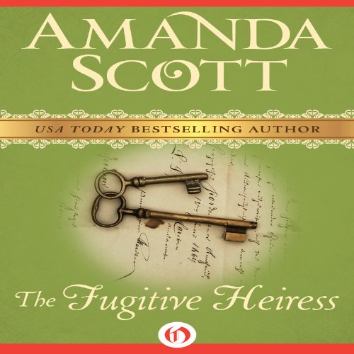 The Fugitive Heiress audiobook cover art