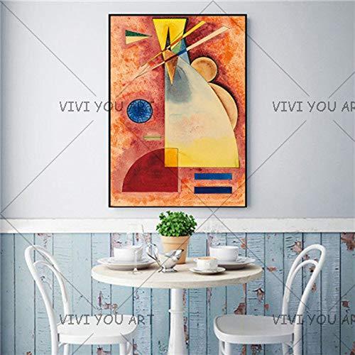 keletop 1000pcs_Wooden Adult Puzzle_Wassily Kandinsky_Gift para la Fiesta de cumpleaños de los niños_50x75cm