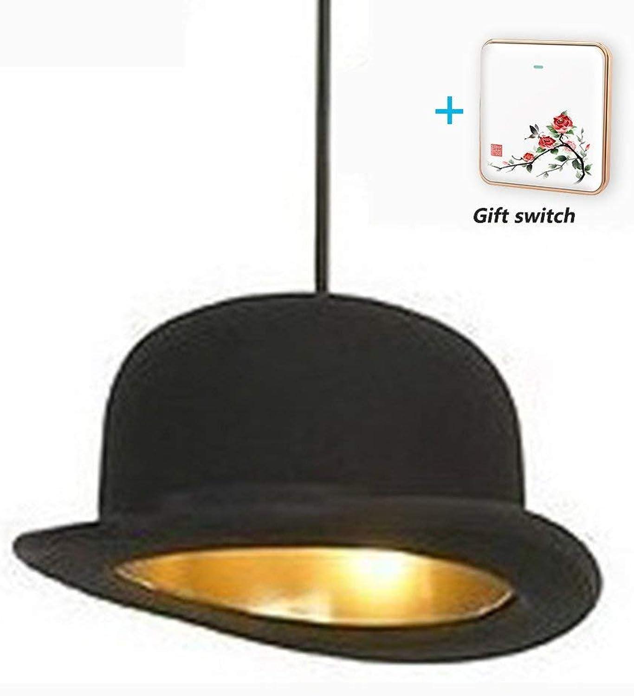 BDYJY  LED-Kronleuchter Creative Courtesy Lamp Bar Kronleuchter Europischer Stil Shop Bekleidungsgeschft Kronleuchter High Top Hat Lampe, M