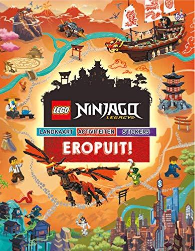 Lego Ninjago Legacy: landkaart, activiteiten, stickers (Eropuit!)