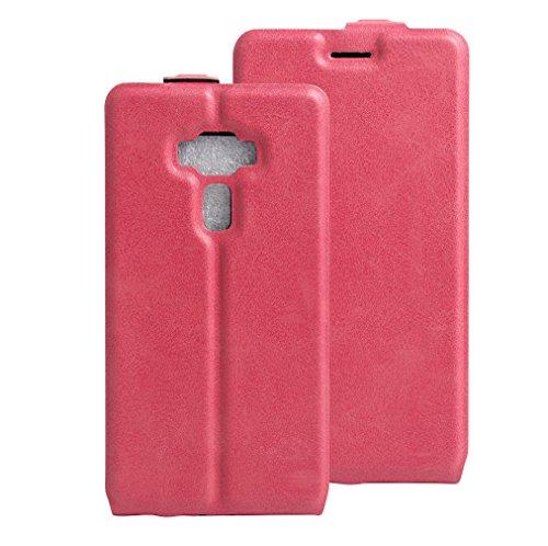NEKOYA ASUS Zenfone 3 /ZE552KL Hülle,ASUS Zenfone 3 /ZE552KL Lederhülle, Handyhülle im Brieftasche-Stil für ASUS Zenfone 3 /ZE552KL.Schutzhülle mit [Standfunktion] [Kartenfach] [Magnetverschluss]