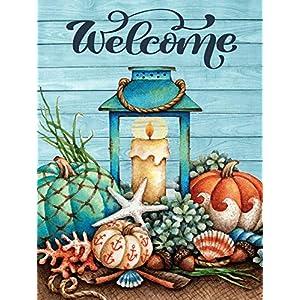 51Db03ZnVIL._SS300_ Beach Fall Decorations & Beach Autumn Decor