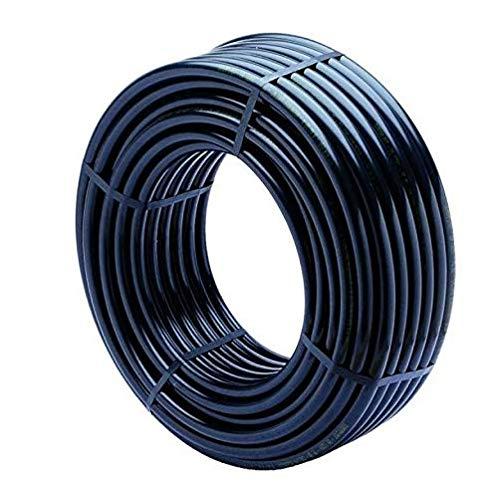 Suinga PE-LD Rohr 100 m x 16mm PN 2,5 bar Versorgungsleitung Wasserrohr Bewässerung Kunststoffrohr schwarz