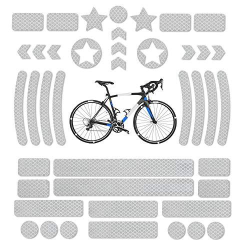 Pegatinas Reflectantes para Bicicletas, Reflectores...