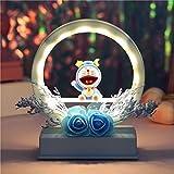 Luz Nocturna De Unicornio Luz LED Redonda Lámpara De Noche Luz Nocturna De Unicornio Regalo Creativo para La Decoración De La Habitación/casa, Cumpleaños Regalos De Unicornio para Navidad (9020-6B)