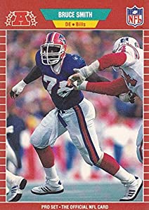 Bruce Smith Football Card (Buffalo Bills) 1989 Pro Set #28