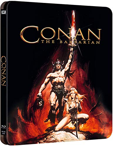 Conan The Barbarian (conan Il Barbaro) Blu-ray Steelbook Edizione Uk - BluRay