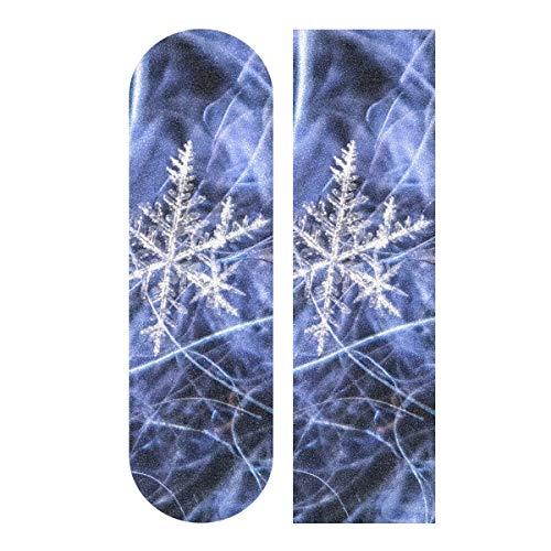Purchase CHXMA Tape Skateboard Sticker, Macro Snowflake 33.1x9.1 Skateboard Longboard Dancing Boar...