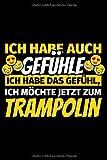 Notizbuch liniert: Trampolin Geschenke Trampolin springen Trampolinturnen