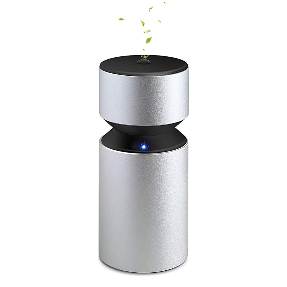 アーティキュレーション実現可能性肥満Caseceo ピュア エッセンシャルオイル ディフューザーワイヤレス&ウォーターレス USB バッテリー駆動 可搬式 アロマ ネブライザー4000mAh 造り付け 充電式 2ml ホーム パーティーレンタカートラベル ヨガ スパ 用