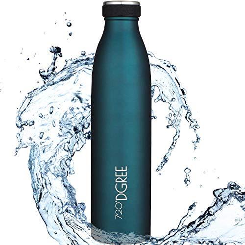 """720°DGREE Edelstahl Trinkflasche """"milkyBottle"""" - 750ml - BPA-Frei,..."""