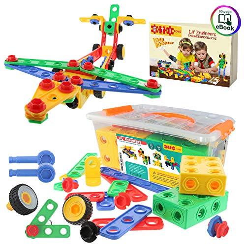 ETI Toys | STEM Learning | Original 101 Piece Educational Construction...