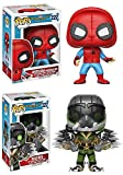 Funko POP! Spider-Man Homecoming: Spider-Man (Homemade Suit) + The Vulture - Marvel Vinyl Bobble-Hea...