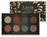 Luvia Lidschatten Palette Matt & Glitzer: Vegan Hidden Forest Eyeshadow, Nachhaltige Kosmetik Frei Von Mikroplastik & Duftstoffen