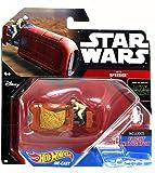 Rey's Speeder - Star Wars Starship Model, Brown - Mattel CGW52A