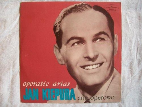 SX 0345 JAN KIEPURA Operatic Arias LP