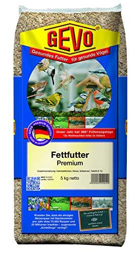 Gevo Vogelfutter Fettfutter Premium - Gewicht: 5 kg