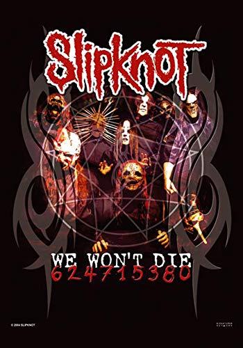 Empire Merchandising–Bandera, diseño de Slipknot We no mueren