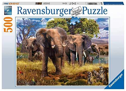 Ravensburger Puzzle - Famiglia di Elefanti, 15040 3