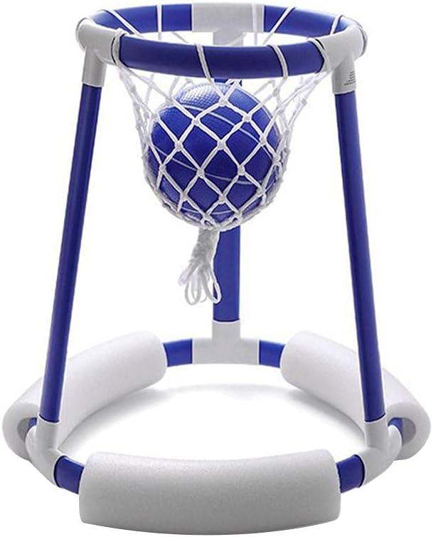 Hahepo Piscina hinchable de baloncesto, juego de neumáticos para niños y adultos, juguete flotante, accesorio para piscina
