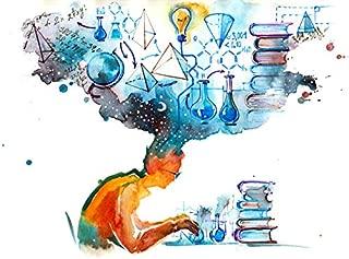 scientific illustration poster
