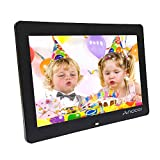 Marcos digitales Andoer 8 Pulgadas 1024 x 600 HD TFT-LCD Marco de Foto Digital Música (Reproductor MP3 y MP4) / Video / E-book,Despertador,Calendario,Con Control Remot,Mejor Regalo para Los Padres