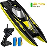 Syma Racing 2.4GHz RC High Speed Boat for Pools Lakes Outdoor Radio Control Q9 Boat Watercraft Toys for Adults...
