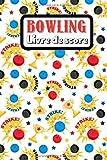 Bowling Livre de score: Livre de score simple pour le Bowling | Carnet d'enregistrement des scores et plus encore | Cadeau de Noël ou d'anniversaire ... feuilles de score pour les joueurs de bowling