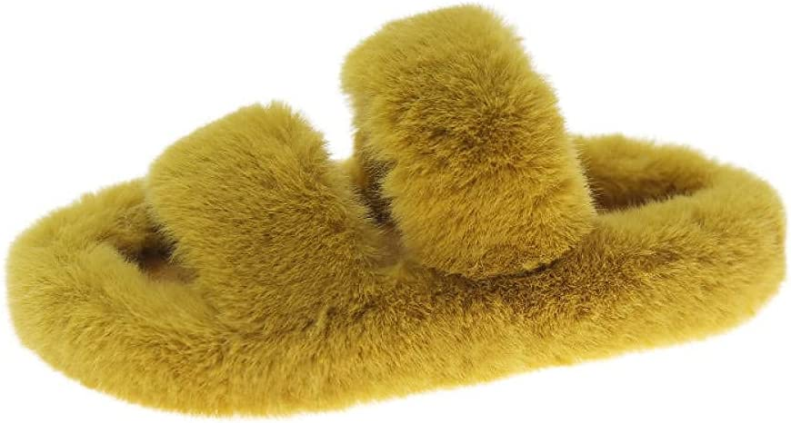 LUXMAX Sales of SALE items from new works Beautiful Winter Jacksonville Mall Home ,Slippers Plush Slippers wear