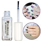Bluelover Professional Nail Art Colla Foil Adesivo Adesivo Bianco Consigli di Trasferiment...