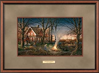Wild Wings Autumn Evening Framed Encore Print by Terry Redlin