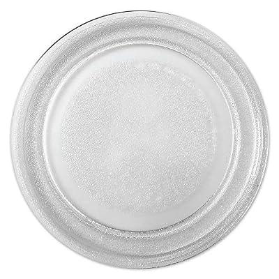 "Saffire 9.6"" / 24.5cm Small Glass Microwave Plate - Flat Bottom Plate"