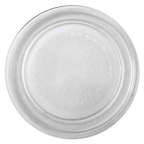 Saffire 9.6' / 24.5cm Small Glass Microwave Plate - Flat Bottom Plate