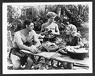 8x10 Photo~Tarzan Movies ~Johnny Weissmuller ~Johnny Sheffield ~Brenda Joyce ~CS