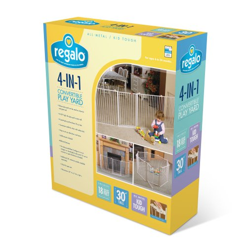 Regalo 192-Inch Adjustable Baby Gate
