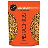 Wonderful Pistachios, No Shells, Chili Roasted, 22 Ounce Resealable Pouch...