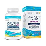 Nordic Naturals Complete Omega Jr, Lemon - 180 Mini Soft Gels - 283 mg Total Omega-3s & 35 mg GLA - Healthy Cognition, Nervous System Function - Non-GMO - 90 Servings