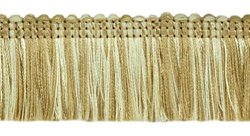 Read About DÉCOPRO 27 Yard Value Pack (25m)|Brush Fringe Trim|1 3/4 inch (45mm)|Style#: 0175HB|Colo...