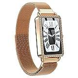 QFSLR Smartwatch Reloj Inteligente IP67 Impermeable, con Monitor...