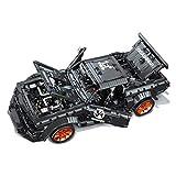 LINANNAN TECHNIC Car Ford Mustang Building Set, 1:10 Sport Car Collectible Modelo, 3181PCS Bloques de construcción compatibles con Lego Technic, Regalo para Adultos y niños