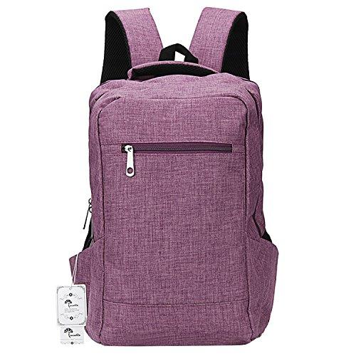 Winblo 15 15.6 Inch Lightweight Travel Laptop Backpack Bag Shoulder College Backpacks