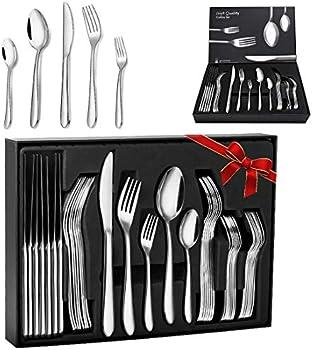 Elegant Life 30-Piece Stainless Steel Flatware Cutlery Set