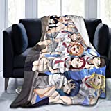 Curtis J Donofrio Love Live! Anime Soft Fleece Blanket Cartoon Plush Throw Blanket Size: 50'x40'